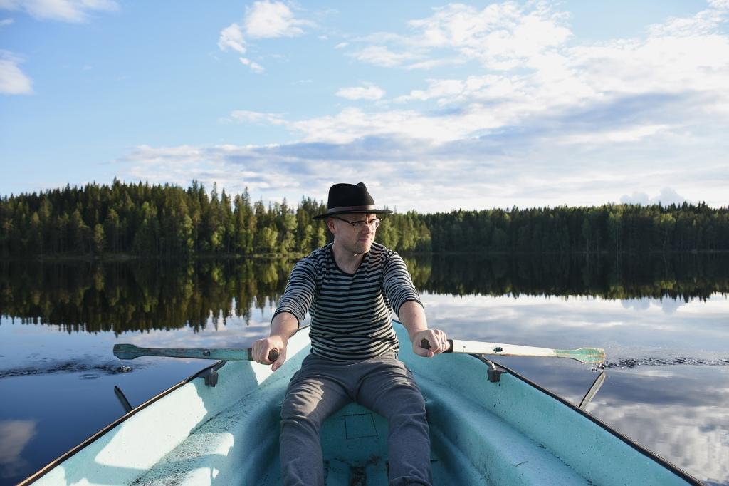 Antti soutamassa