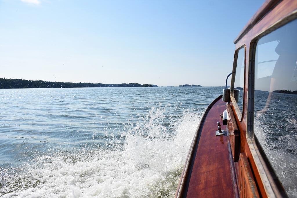 Arla-vene merellä