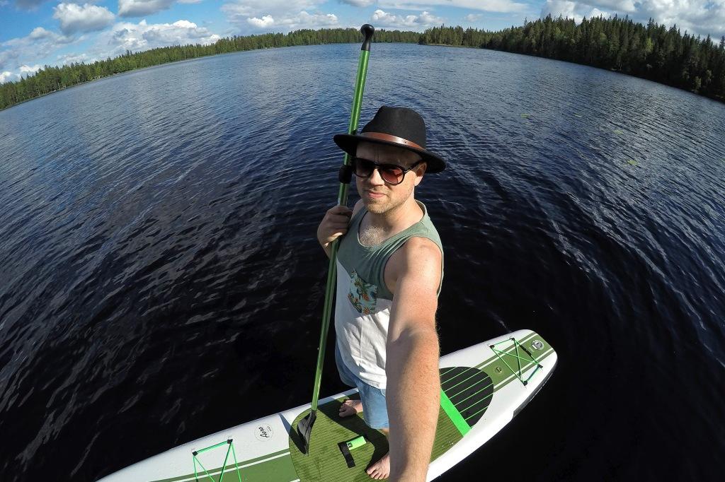SUP-selfie kesälomalla 2018