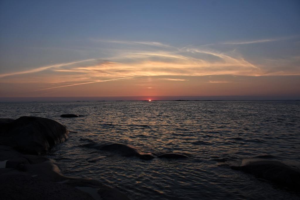 Bengtskär auringonlasku