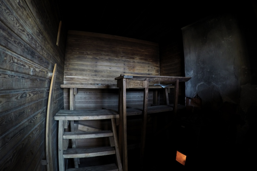 Bengtskärin saunan lauteet