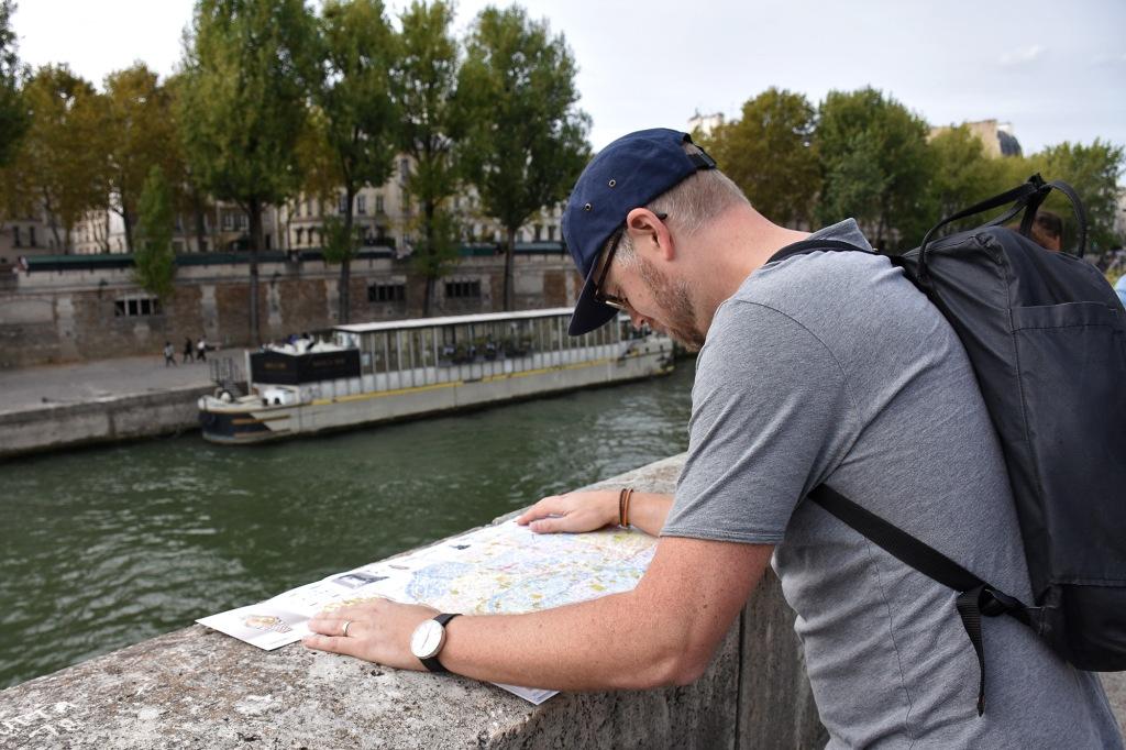 Antti turistina Pariisissa