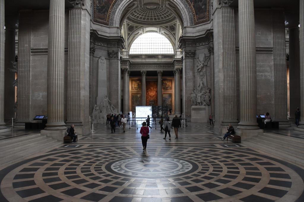 Panthéonin halli Pariisissa