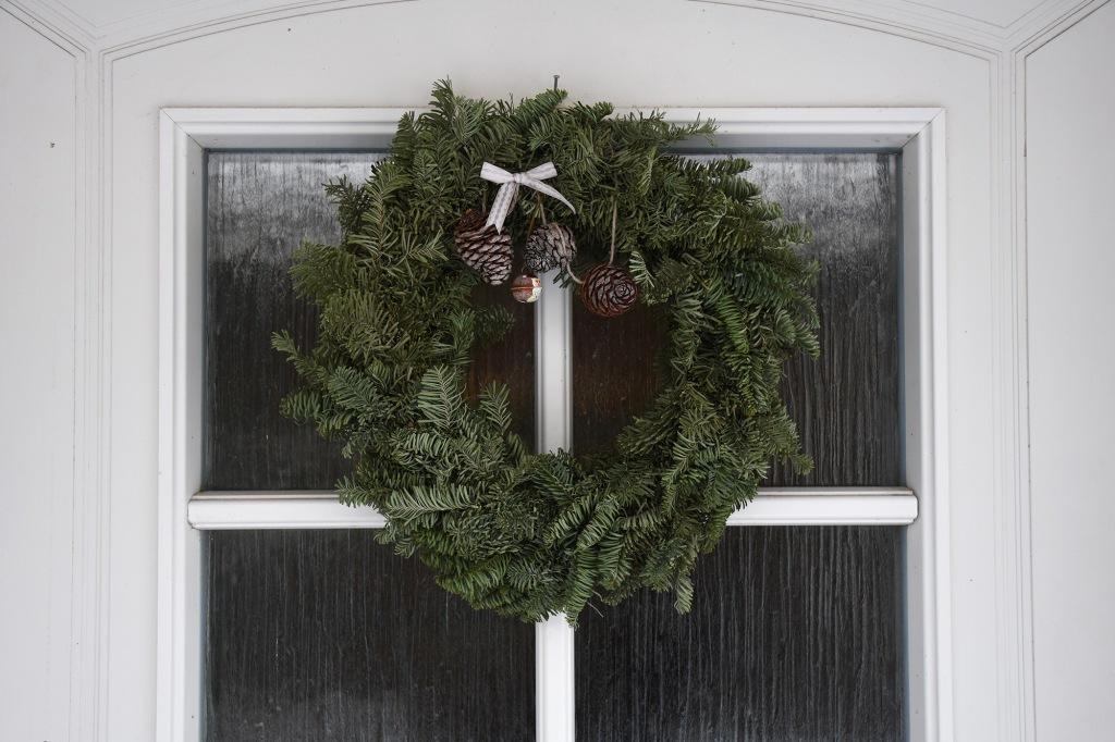 Kodin joulukranssi