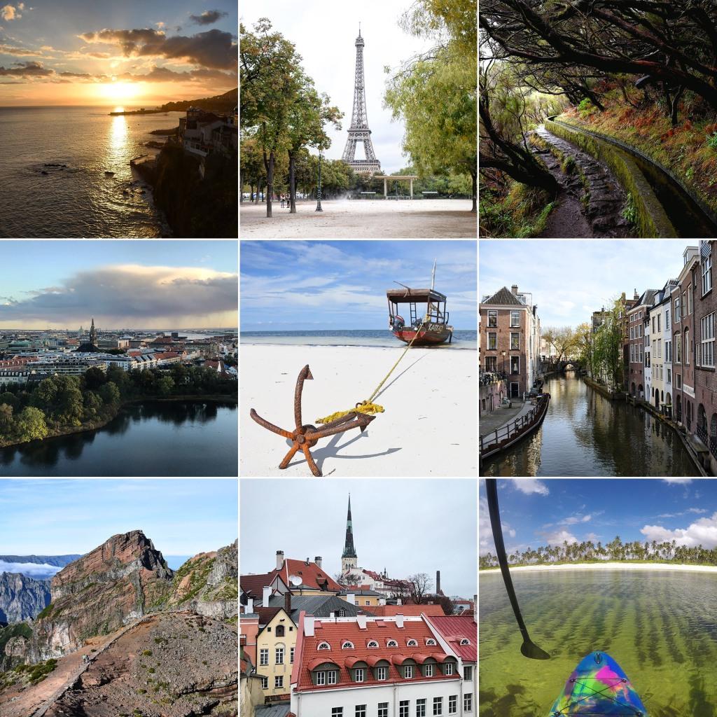 Vuosi 2018 kuvina - reissut