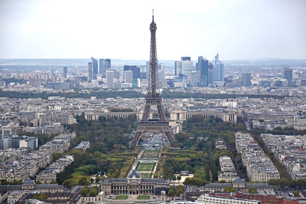 Eiffel-torni Montparnassen näkötornista