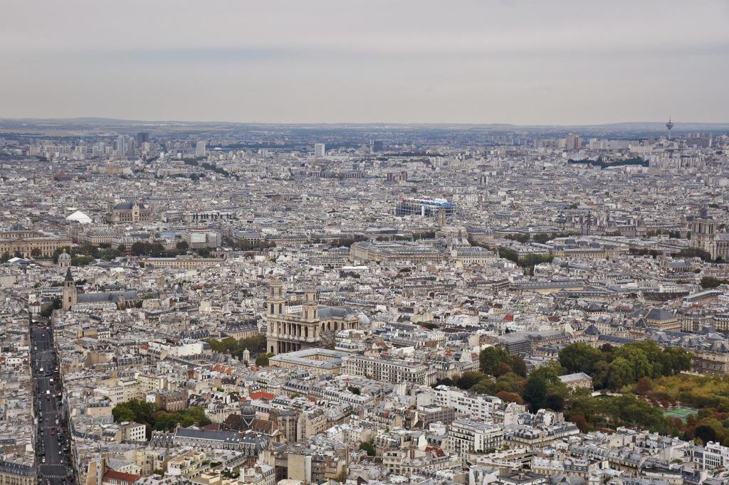 Tour Montparnassen näkymä