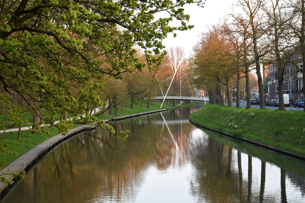 Stadsbuitengracht ja Martinusbrugin kävelysilta