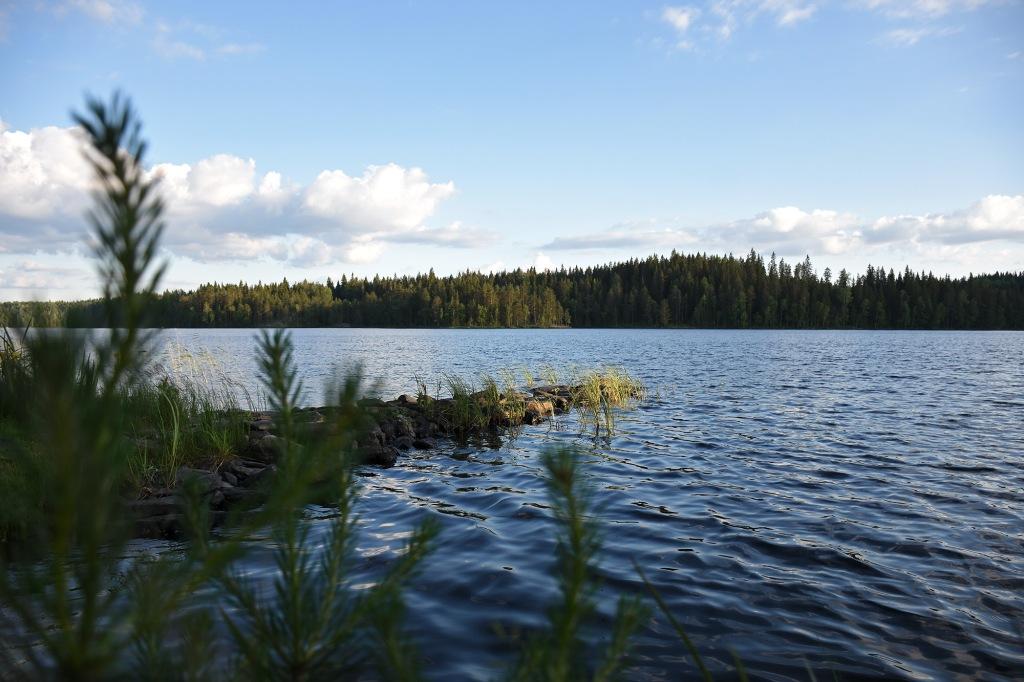 Mökkijärvi juhannuksena 2019