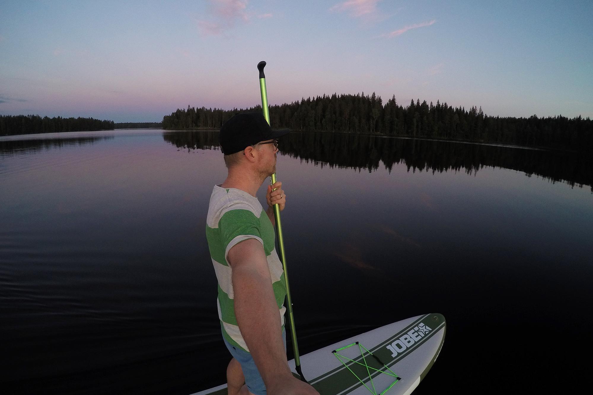 SUP-selfie juhannuksena 2019
