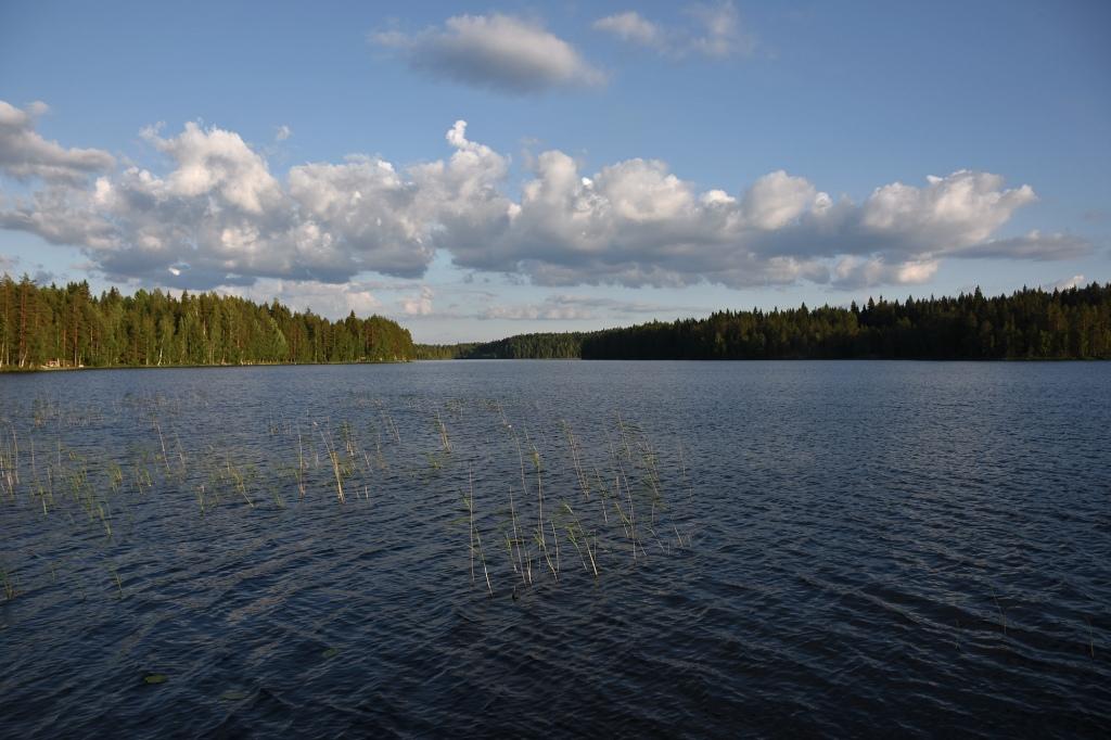 Mökkijärvi juhannuksena
