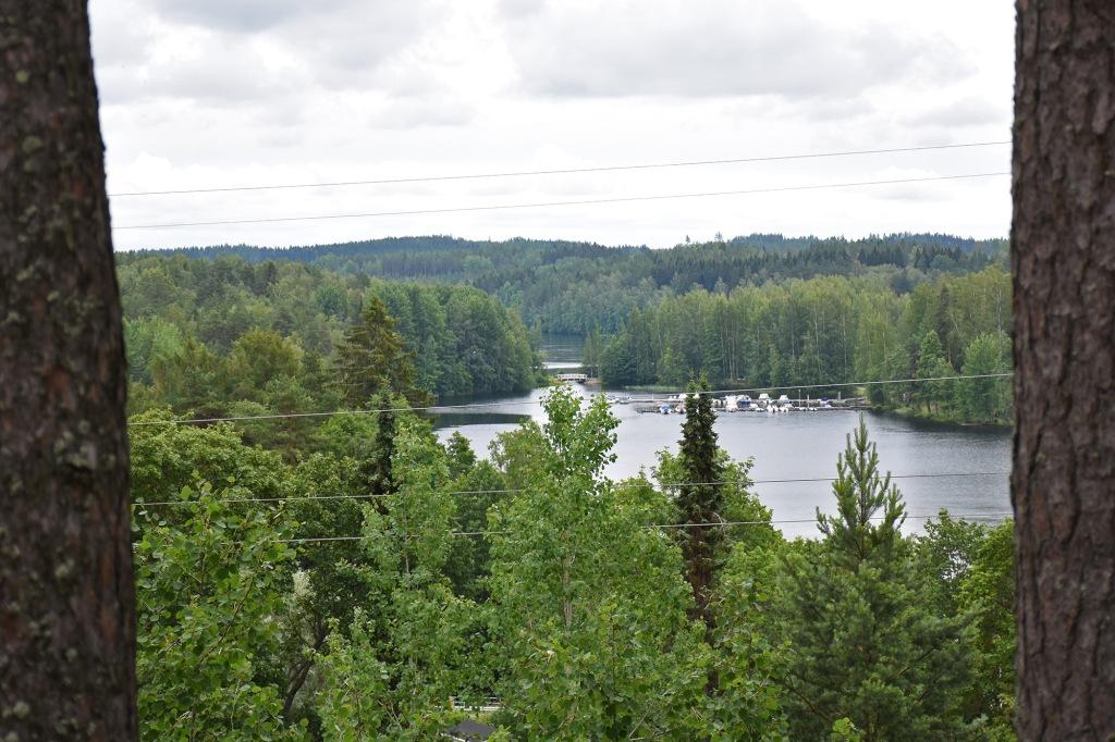 Näkymä Konniveden suuntaan