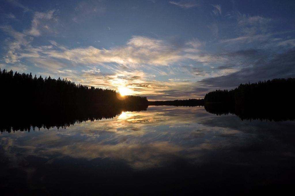Auringon viimeinen pilkahdus