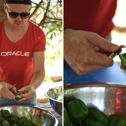 Vapaaehtoistyötä Ateenassa: ruoanlaittoa työporukalla
