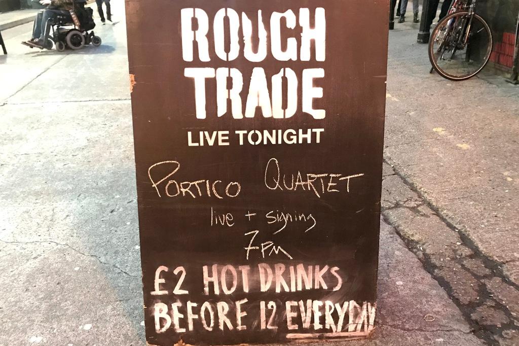 Portico Quartet keikalla Rough Trade Eastissä