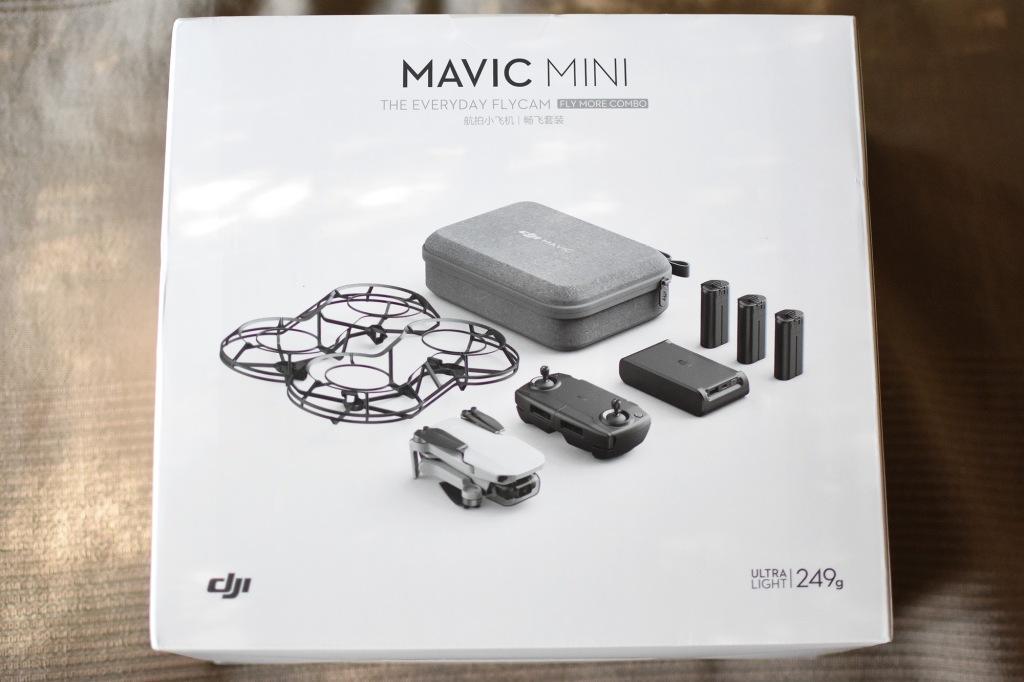 DJI Mavic Mini Fly More Combo -paketti