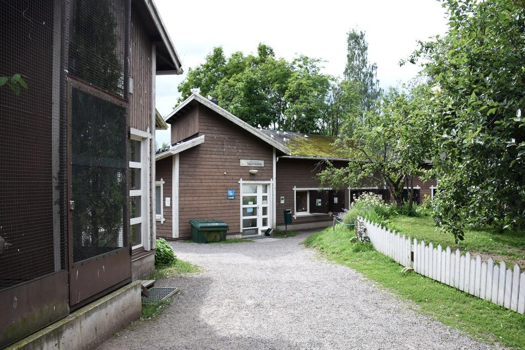 Heinolan Lintutarhan rakennuksia - Talvitarha