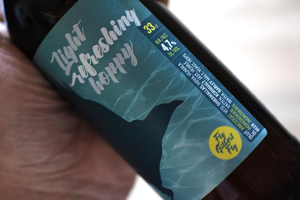 Kråkö Bryggeri Iizi Pale -oluen etiketti