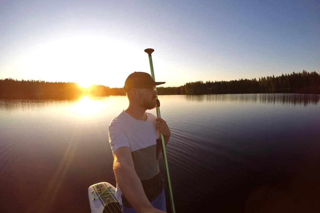 SUP-selfie kesällä 2020