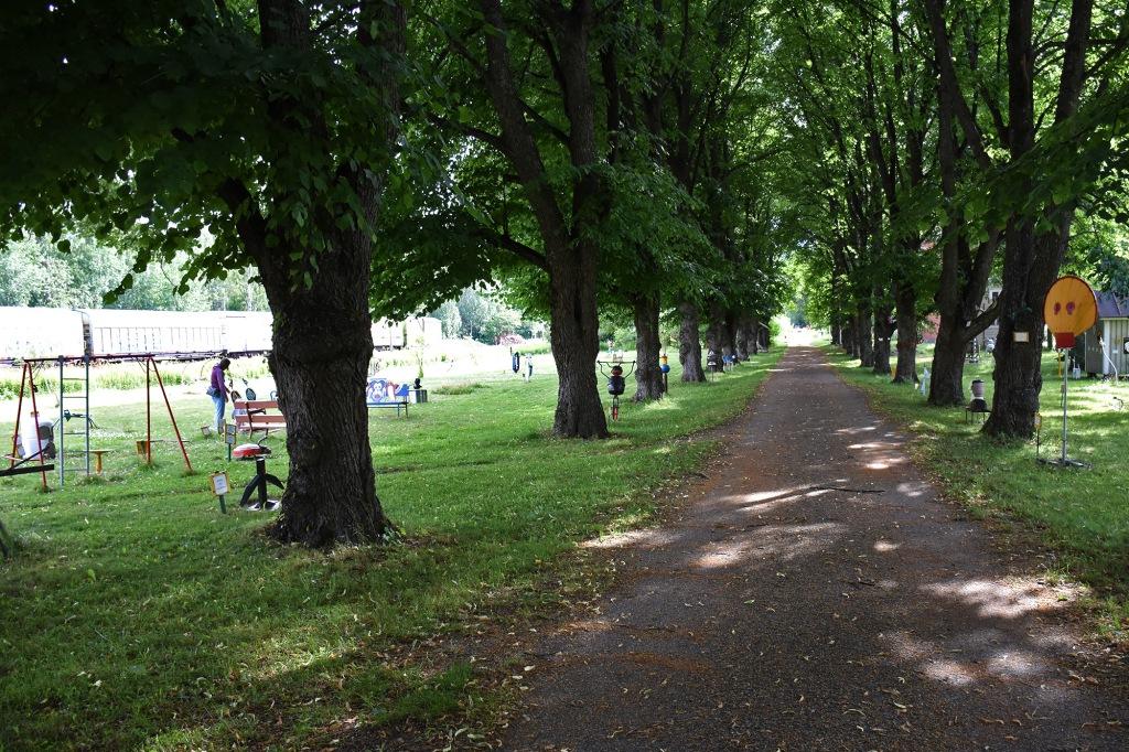 Dorkin puiston kävelytie