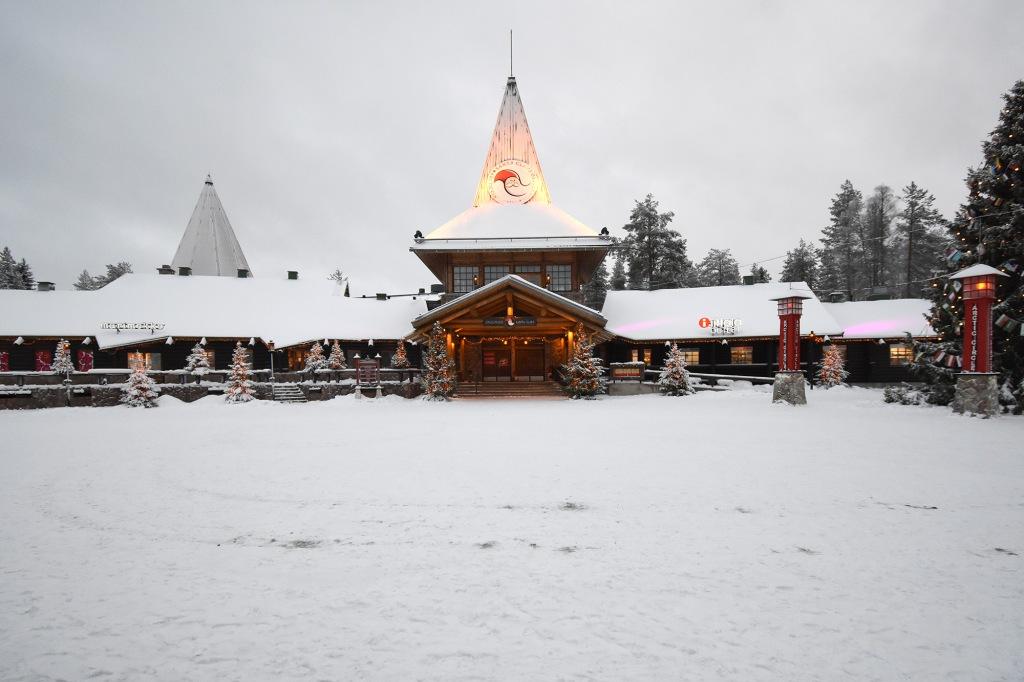 Joulupukin Kammari Joulupukin Pajakylässä