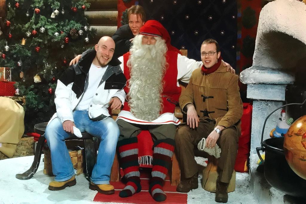 Joulupukin vieraana vuonna 2004