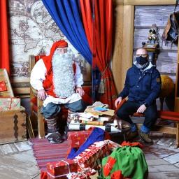 Terveisiä Joulupukin Kammarista!