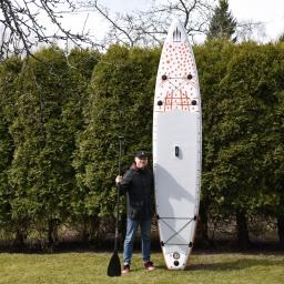 """Kolmas SUP-lauta toden sanoo: Shark SUP 12'6"""" x 30"""" Touring"""